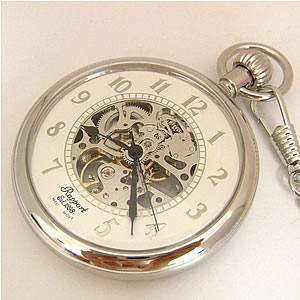Stock photo of a clock or pocket watch